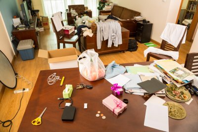 Elder Care Needed in Messy House