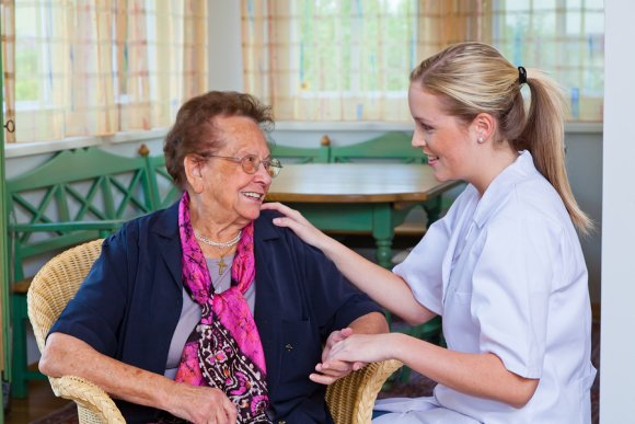 Falls In Senior Citizens by Caring Companions